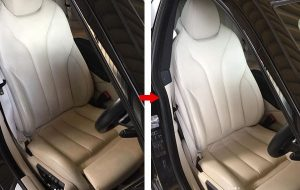 BMW 本革シート 修理 補修